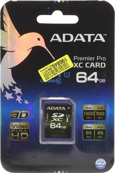 A-Data ASDX64GUI1CL10-R