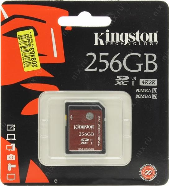 Kingston SDA3/256GB