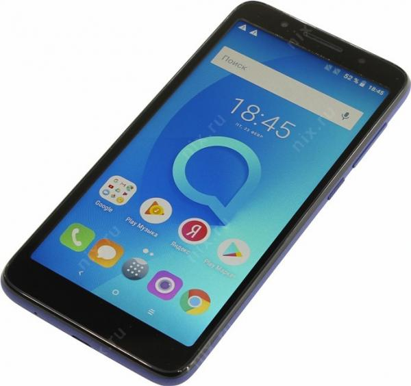 Alcatel 1x 5059D Black + Dark Blue