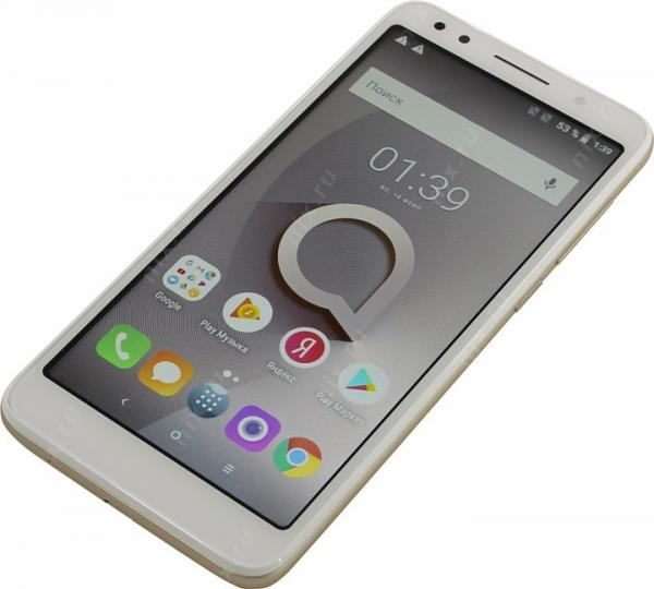 Alcatel 1x 5059D White + Gold